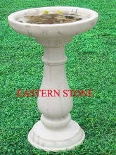 BIRD BATH BOWLS WITH PEDESTAL