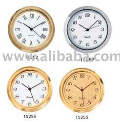 "1 7/16"" (36mm) Beveled Bezel Clock Fit Ups Inserts"