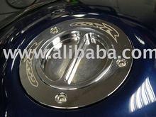 Suzuki GSXR Hayabusa chrome keyless cap