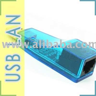 Usb de extremo a extremo LAN RJ45 adaptador de tarjeta de red para PC y del ordenador portátil