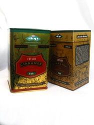 Ceylon green and black tea with Cinnamon