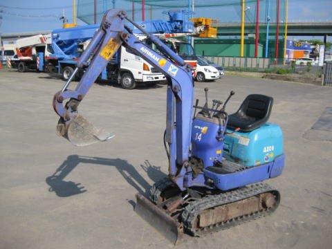 Used Mini Excavator AIRMAN AX-08-2K
