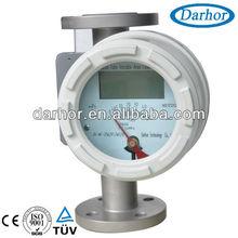 Metal variable area water flow meter sensor