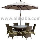 Garden Dining Set with SUNbrella