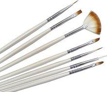 Nail Brush Set 7 brushes