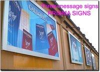 Three-Message Signs