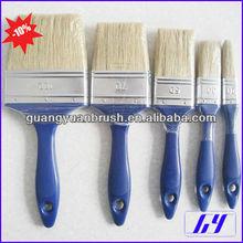 white hair paint brush