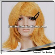2014 China fashion Cosplay wig,Brazilian virgin hair,Yiwu hair football fan