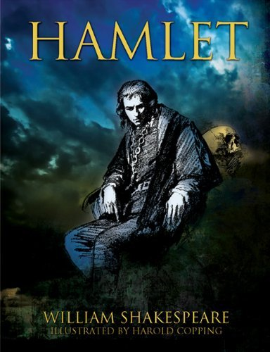 Hamlet By William Shakespeare Book Cover Book - William Shakespeare