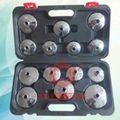 2014 filtro de aceite llave conjunto 14 piezas de vehículos automóviles herramientas de sincronización del motor renault herramienta