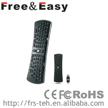 2013 2.4g mini wireless fly air mouse keyboard remote control for smart TV