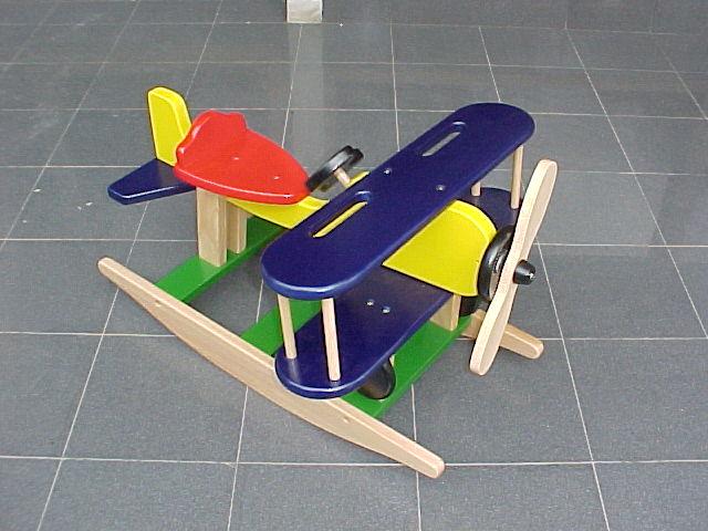 Wooden Rocking Plane