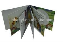 Crianças de alta qualidade papelão impressão de livros, Bonito e vívido imagem