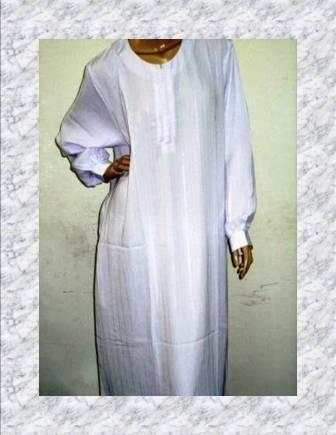 Jubah Putih Wanita