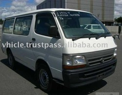 2003 Toyota used Hiace Van commuter car (mini bus)