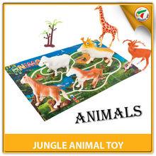 orman hayvan ilginç PP için plastik oyuncak promosyon oyuncak Tüm sertifika ile