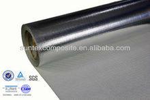 14micron aluminum foil laminated fiberglass heat shield acid resistant fabric