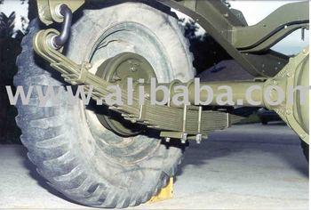 Heavy truck leaf springs