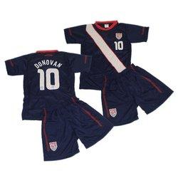 Youth Landon Donovan Soccer Football Jersey and Shorts kit