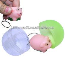 mini lovely plastic capsule toy for vending machine