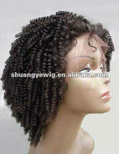 Afo curl full lace wig for black women