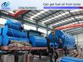 Stahl reifen draht schrott/reifen Öl/ruß pyrolyse pflanze