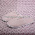Fechado- toe impresso descartáveis chinelos baratos branco sandálias chinelo
