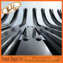 Powder Coated Heavy Steel Bar Security Fencing