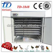 TD-1848 automatic chicken making machine egg incubator hatching fish eggs