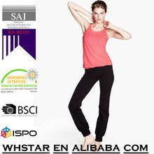 Straight-leg sports trousers