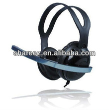 Portable dynamic wired headset microphone