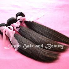 virgin hair straight Peruvian hair complete cuticle guangzhou human hair