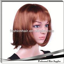 2014 China moda peruca cosplay, Cabelo virgem brasileiro, Yiwu cabelo apertos de cabelo grampos