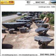 Vietnam landscaping stone bench