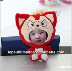 2013 New Coming 12cm Cartoon Ali 3D Face Doll Dog--Biggest Factory
