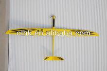 RCRCM balsa wood airplane model PredatorIII electric rc glider kit