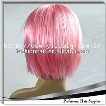 2014 Cheapest Fashion Cosplay wig,Football fans wig,Human hair hair loss solution oil