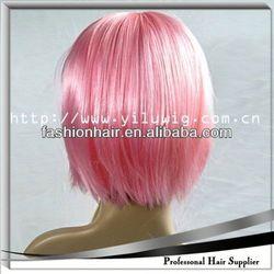 2014 Cheapest Fashion Cosplay wig,Football fans wig,Human hair hair loss solution oil