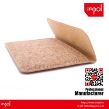 New arrivals well-stitched protective envelope cork leather Clutch Bag for apple ipad mini