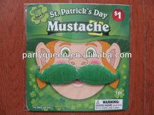 Ireland Festival green mustache M-U257