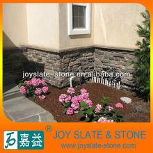 natural grey brick wall stone