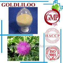 Free Sample GMP & HACCP &ISO9001 100% Natural Organic Milk Thistle P.E.