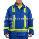 Hi-vis safety jacket for men