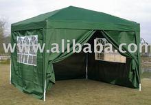 Waterproof Gazebo in Green 3m x 3m