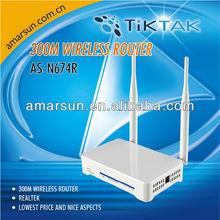 TIK TAK 64/128-bits WEP/WPA/WPA2 Wireless router indoor AP