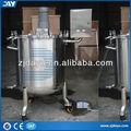 De procesamiento de alimentos de la máquina, temperatura- titular del tanque, hoyuelo jackt insultion tanque tanque de acero inoxidable para la venta