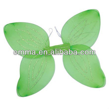 Green Glitter Tinkerbell Fairy Pixie Fairy Tale Ugly Bug Ball Wings Fancy Dress WG004