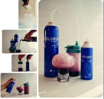 Prana oxygen cocktail maker