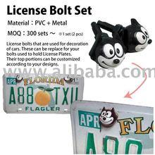 License Bolt Set