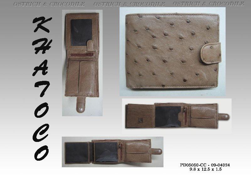 Ostrich Wallet Ostrich Wallet For Men